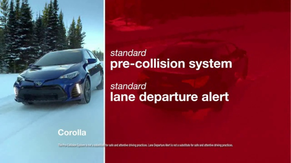 Toyota Safety First Sales Event TV Commercial, '2017 Corolla LE' [T2]