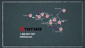 Tuff Shed 2-Day Sale TV Spot, 'The Test of Time' - Thumbnail 10