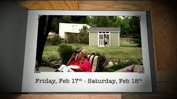 Tuff Shed 2-Day Sale TV Spot, 'The Test of Time' - Thumbnail 5