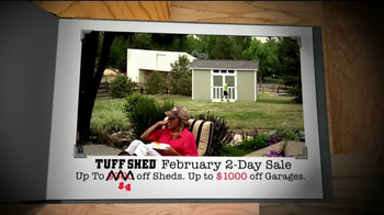 Tuff Shed 2-Day Sale TV Spot, 'The Test of Time' - Thumbnail 6