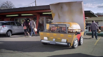 Febreze Car Vent Clip TV Spot, 'Burger Car'