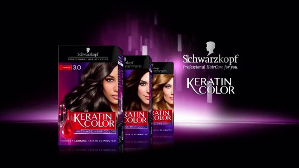 Schwarzkopf Keratin Color Tv Commercial Less Breakage Video