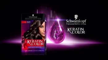 Schwarzkopf Keratin Color TV Spot, 'Less Breakage' - Thumbnail 3