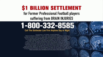 Goldwater Law Firm TV Spot, 'Brain Injuries' - Thumbnail 6