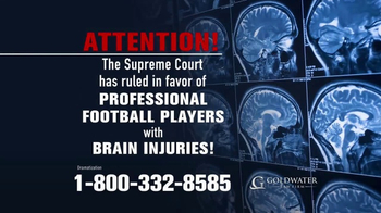 Goldwater Law Firm TV Spot, 'Brain Injuries' - Thumbnail 1