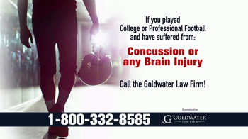 Goldwater Law Firm TV Spot, 'Brain Injuries' - Thumbnail 3