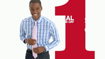Macy's One Day Sale TV Spot, 'Dress Shirts, Ties and Suits' - Thumbnail 4