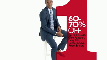 Macy's One Day Sale TV Spot, 'Dress Shirts, Ties and Suits' - Thumbnail 5