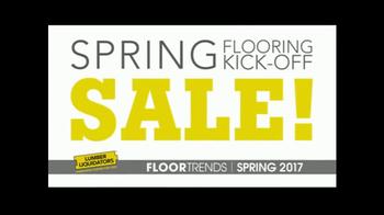 Lumber Liquidators Spring Flooring Kick-Off Sale TV Spot, 'Catalog Floors' - Thumbnail 1