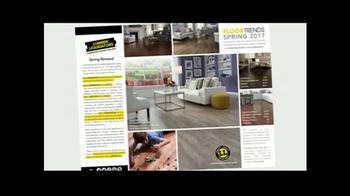 Lumber Liquidators Spring Flooring Kick-Off Sale TV Spot, 'Catalog Floors' - Thumbnail 3