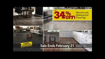 Lumber Liquidators Spring Flooring Kick-Off Sale TV Spot, 'Catalog Floors' - Thumbnail 4