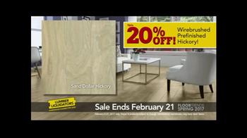 Lumber Liquidators Spring Flooring Kick-Off Sale TV Spot, 'Catalog Floors' - Thumbnail 5
