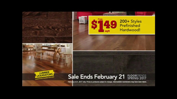 Lumber Liquidators Spring Flooring Kick-Off Sale TV Spot, 'Catalog Floors' - Thumbnail 6