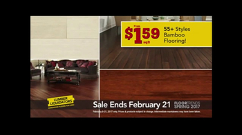 Lumber Liquidators Spring Flooring Kick-Off Sale TV Spot, 'Catalog Floors' - Thumbnail 7