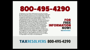 The Tax Resolvers TV Spot, 'Special Tax Status' - Thumbnail 9