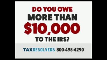The Tax Resolvers TV Spot, 'Special Tax Status'
