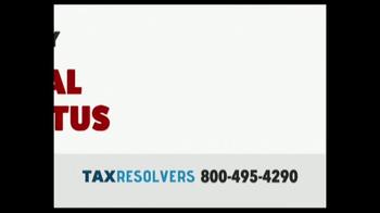 The Tax Resolvers TV Spot, 'Special Tax Status' - Thumbnail 3