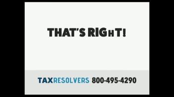 The Tax Resolvers TV Spot, 'Special Tax Status' - Thumbnail 4