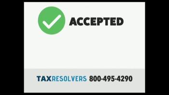The Tax Resolvers TV Spot, 'Special Tax Status' - Thumbnail 6