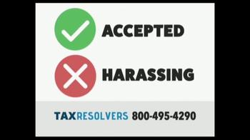 The Tax Resolvers TV Spot, 'Special Tax Status' - Thumbnail 7