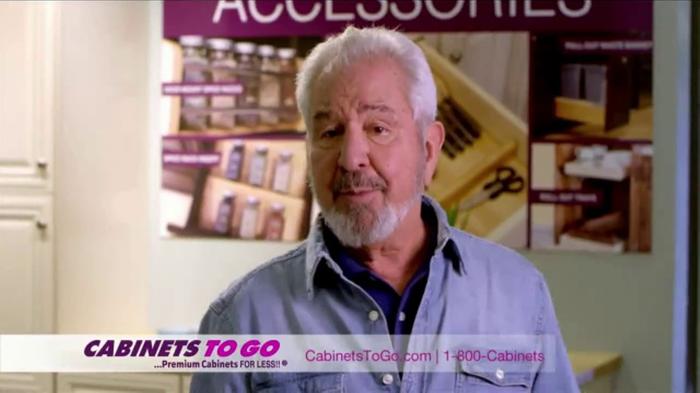 Cabinets To Go TV Commercial, 'Great Quality and Prices' Featuring Bob Vila