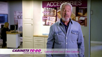 Cabinets To Go TV Spot, 'Great Quality and Prices' Featuring Bob Vila - Thumbnail 1