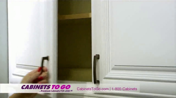 Cabinets To Go TV Spot, 'Great Quality and Prices' Featuring Bob Vila - Thumbnail 5