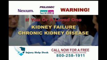 Injury Help Desk TV Spot, 'Heartburn Drugs'