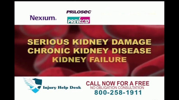 Injury Help Desk TV Spot, 'Heartburn Drugs' - Thumbnail 2