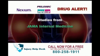 Injury Help Desk TV Spot, 'Heartburn Drugs' - Thumbnail 3