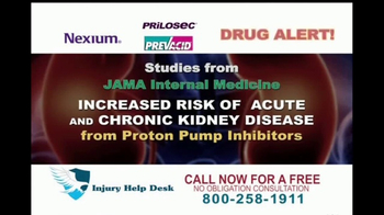Injury Help Desk TV Spot, 'Heartburn Drugs' - Thumbnail 4