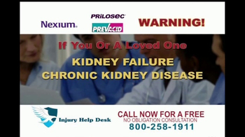Injury Help Desk TV Spot, 'Heartburn Drugs' - Thumbnail 5