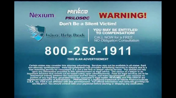 Injury Help Desk TV Spot, 'Heartburn Drugs' - Thumbnail 7