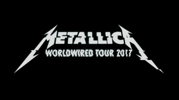 Blackened Recordings TV Spot, 'Metallica 2017 WorldWired Tour' - 69 commercial airings