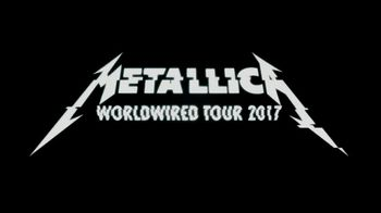Blackened Recordings TV Spot, 'Metallica 2017 WorldWired Tour'
