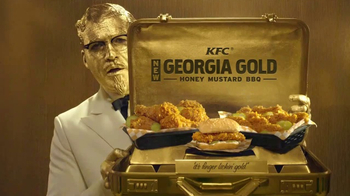 KFC Georgia Gold TV Spot, 'Questions' Featuring Billy Zane - Thumbnail 7