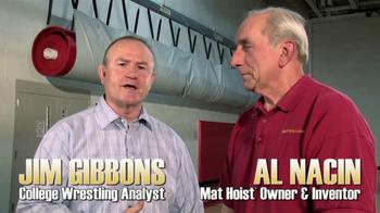 NGE Mat Hoist TV Spot, 'Wrestling Fans' - Thumbnail 1