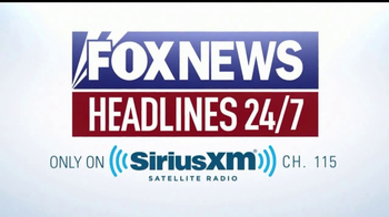 Sirius/XM Satellite Radio TV Spot, 'FOX News' - Thumbnail 8