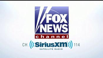 Sirius/XM Satellite Radio TV Spot, 'FOX News' - Thumbnail 2