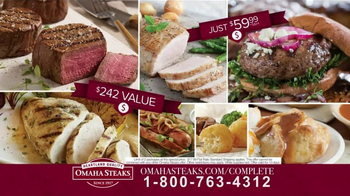 Omaha Steaks Complete Collection TV Spot, 'Special Offer' - Thumbnail 7