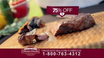Omaha Steaks Complete Collection TV Spot, 'Special Offer' - Thumbnail 2