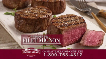 Omaha Steaks Complete Collection TV Spot, 'Special Offer'