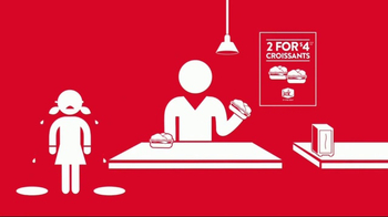Jack in the Box Breakfast Croissants TV Spot, 'Two for You' - Thumbnail 6
