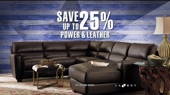 La-Z-Boy Presidents Day Sale TV Spot, 'Power and Leather Styles' - Thumbnail 3