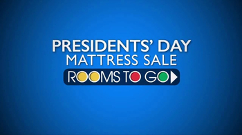 Rooms to Go Presidents' Day Mattress Sale TV Spot, 'Special Purchase' - Thumbnail 2