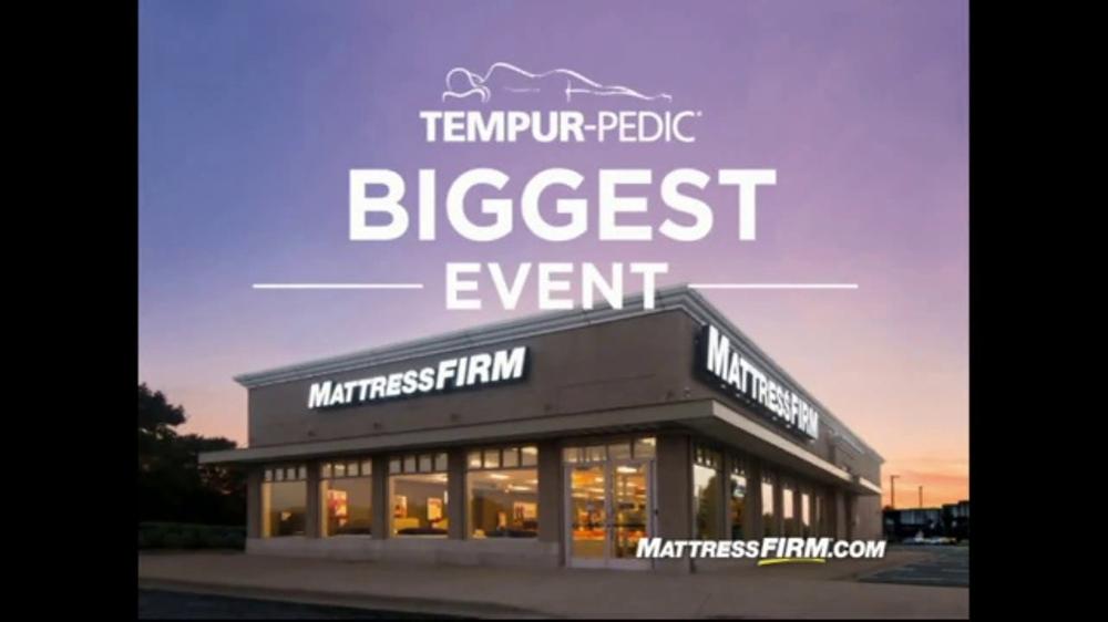 Mattress Firm Tempur Pedic Overstock Event Tv Commercial
