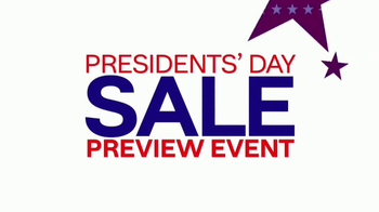 Ashley HomeStore Presidents Day Sale Preview Event TV Spot, 'Washington' - Thumbnail 2
