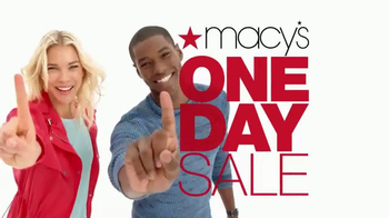 Macy's One Day Sale TV Spot, 'Sheets, Kitchenware and Pillows'