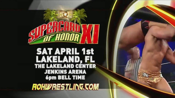 ROH Wrestling TV Spot, 'February, March and April'