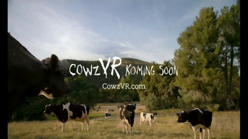Chick-fil-A TV Spot, 'Cowz VR' - 28 commercial airings